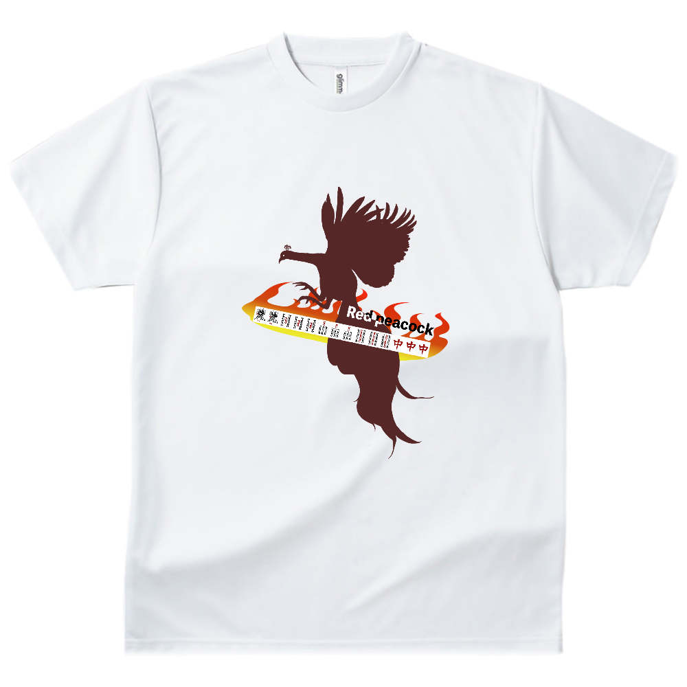 紅孔雀 ドライTシャツ