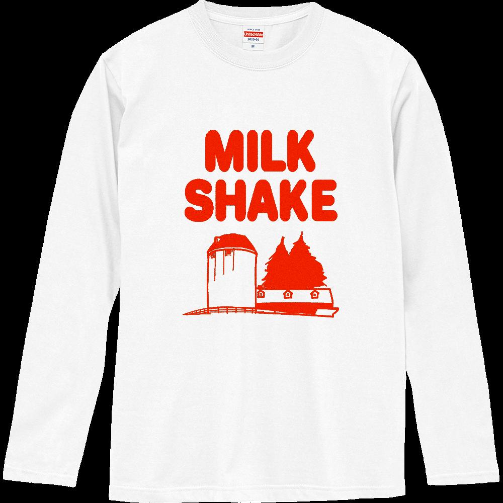 ミルクセーキ ロングスリーブTシャツ