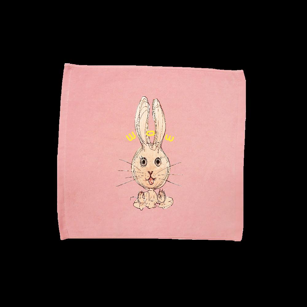 ウサギのびっくりポン! ハンドタオル