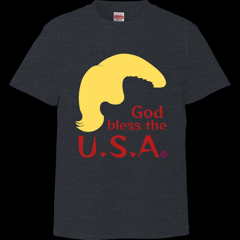 God bless the U.S.A.【Tシャツ】51色から選べる ハイクオリティーTシャツ