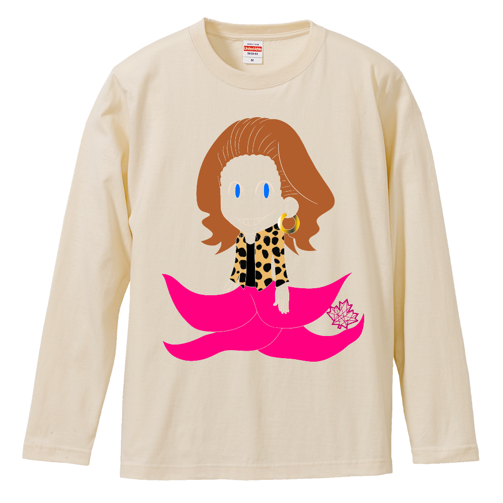 クラーケン【長袖Tシャツ】14色から選べる ロングスリーブTシャツ