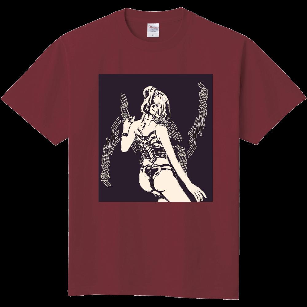 Purple Band Black 定番Tシャツ