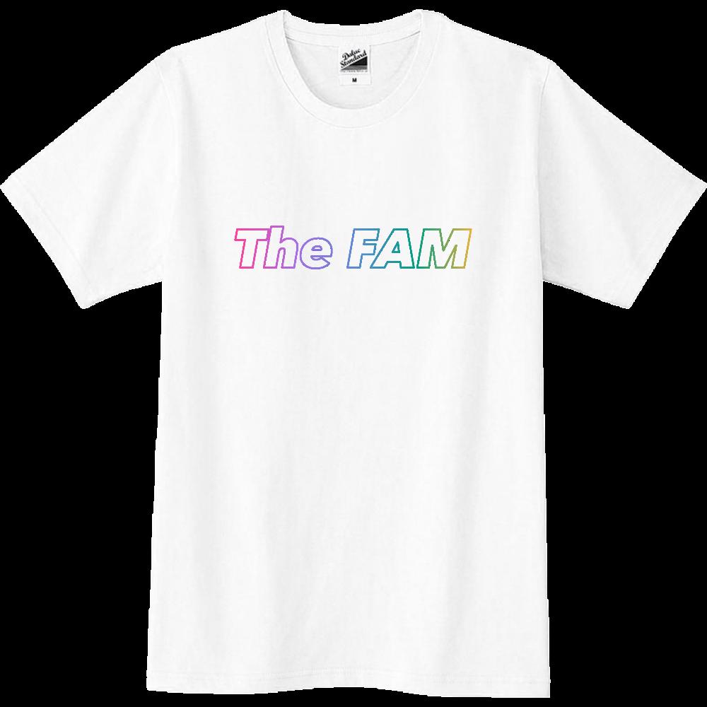 """アクティブ""""The FAM""""スリムTシャツ(120〜XXL) スリムTシャツ"""
