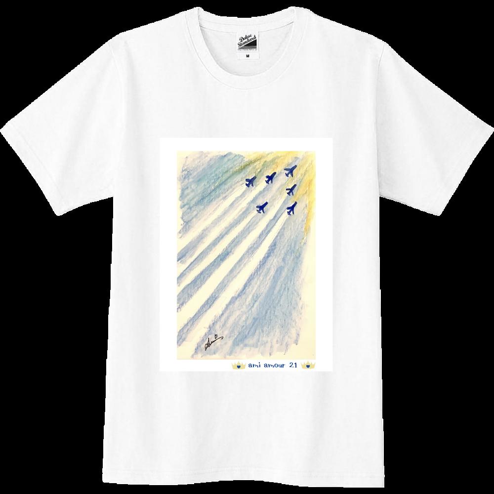 「祈り」ブルーインパルス スリムTシャツ