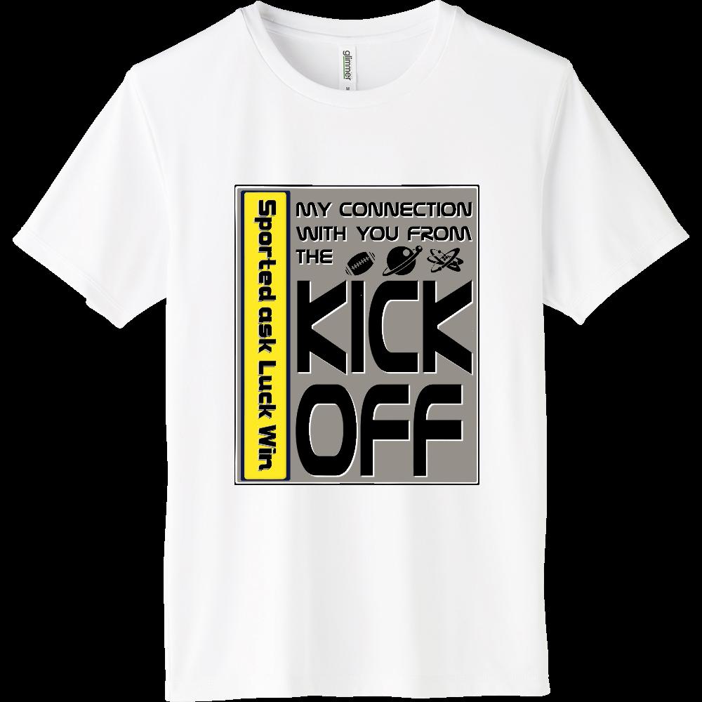 KICK OFF Gray インターロックドライTシャツ