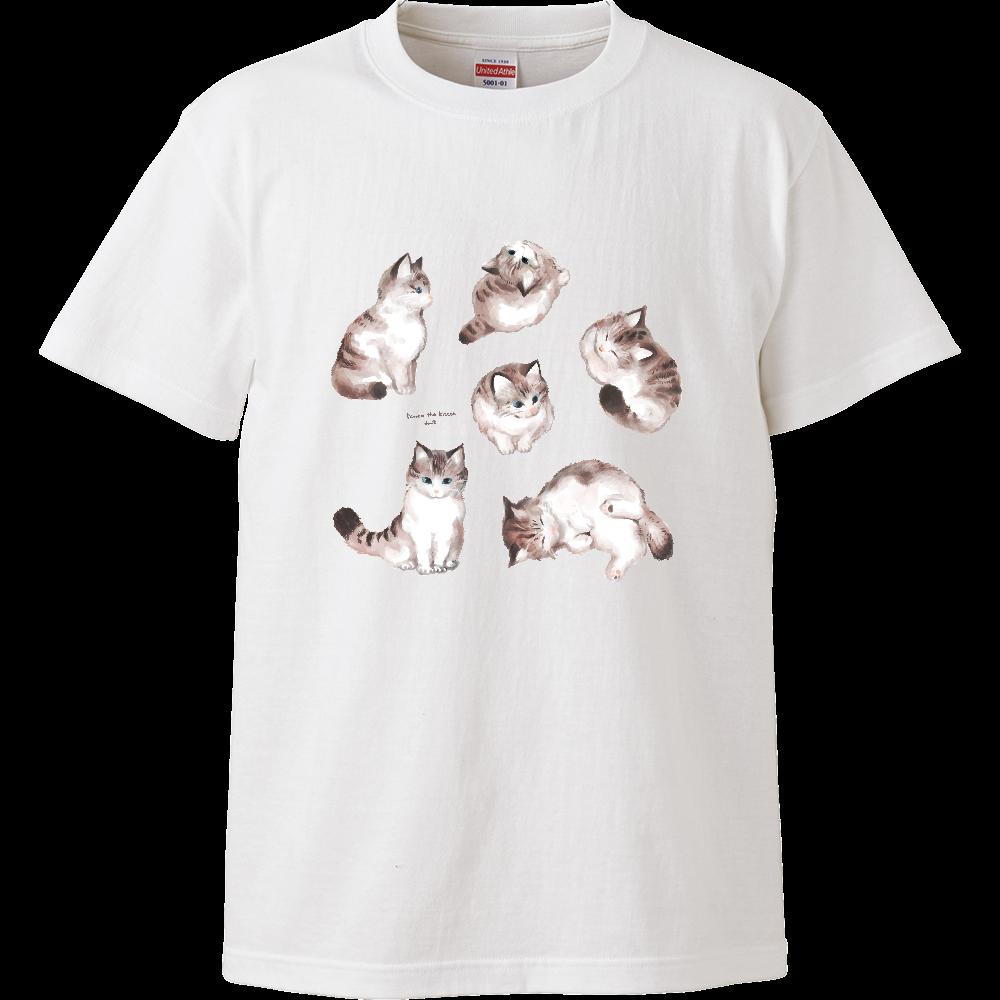 こねこのペロゥ ハイクオリティーTシャツ