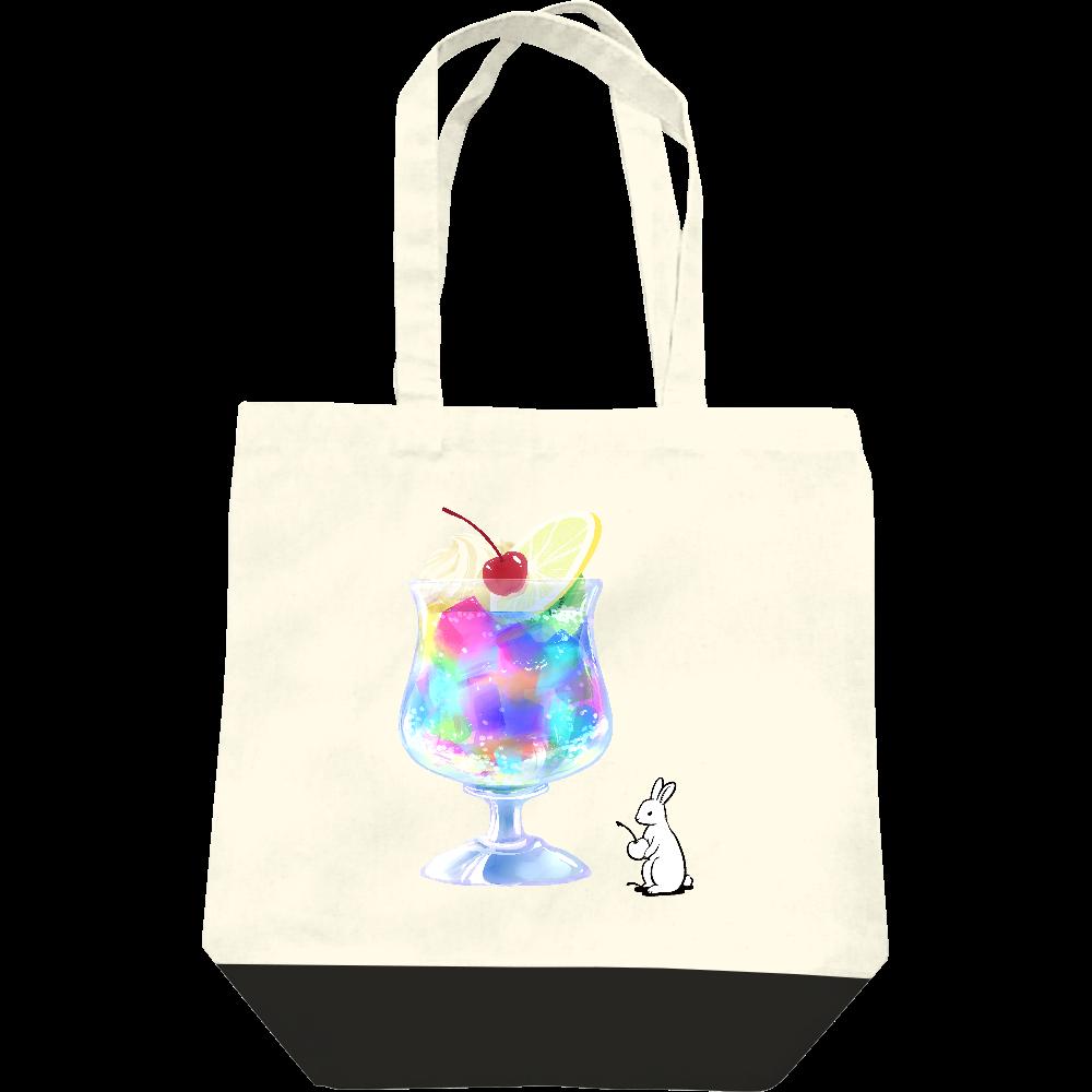 純喫茶ブルーラビット ゼリーポンチのキャンバストート レギュラーキャンバストートバッグ(M)