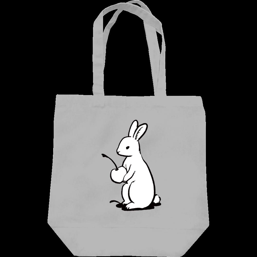 純喫茶ブルーラビット ブルラビオーナー(白)キャンバストート レギュラーキャンバストートバッグ(M)