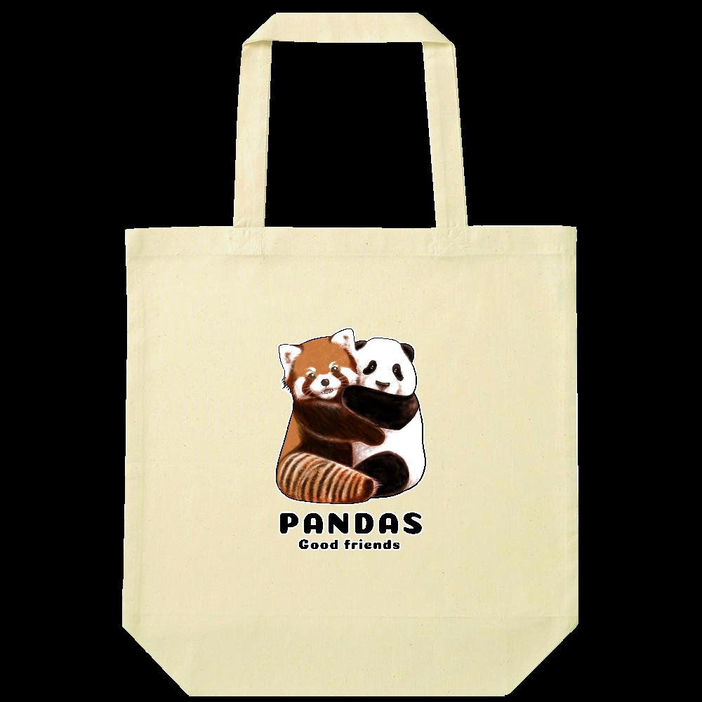 PANDAS【A】 ナチュラルコットンバッグ