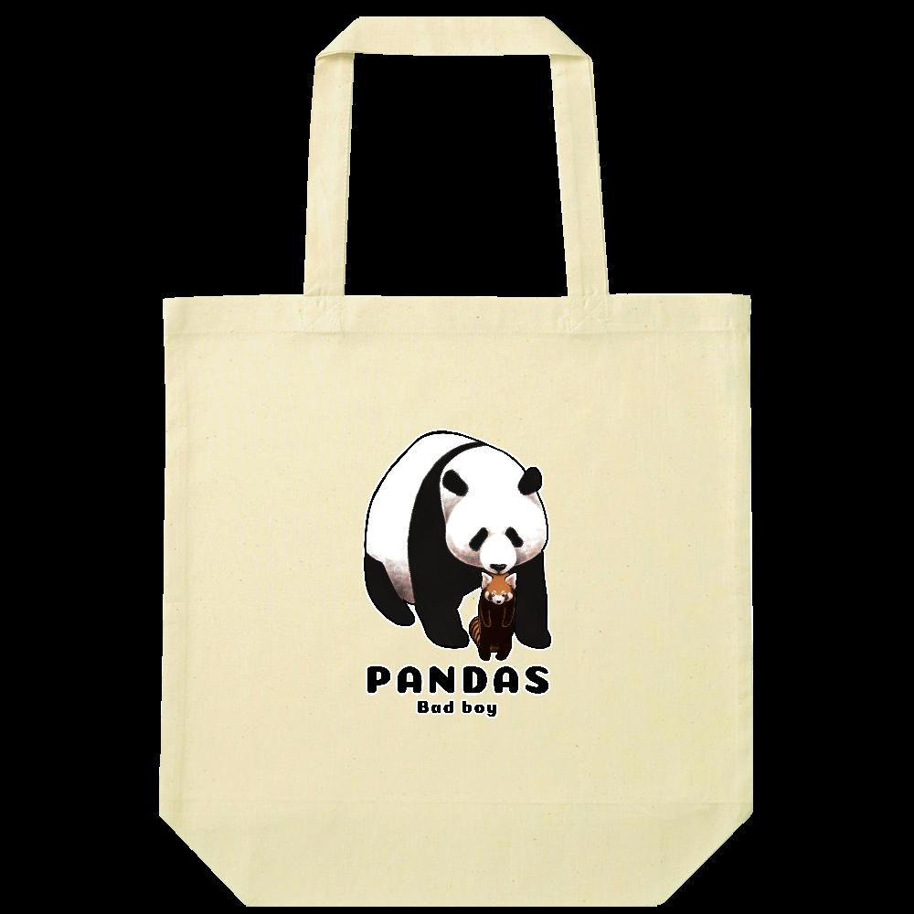 PANDAS【B】 ナチュラルコットンバッグ
