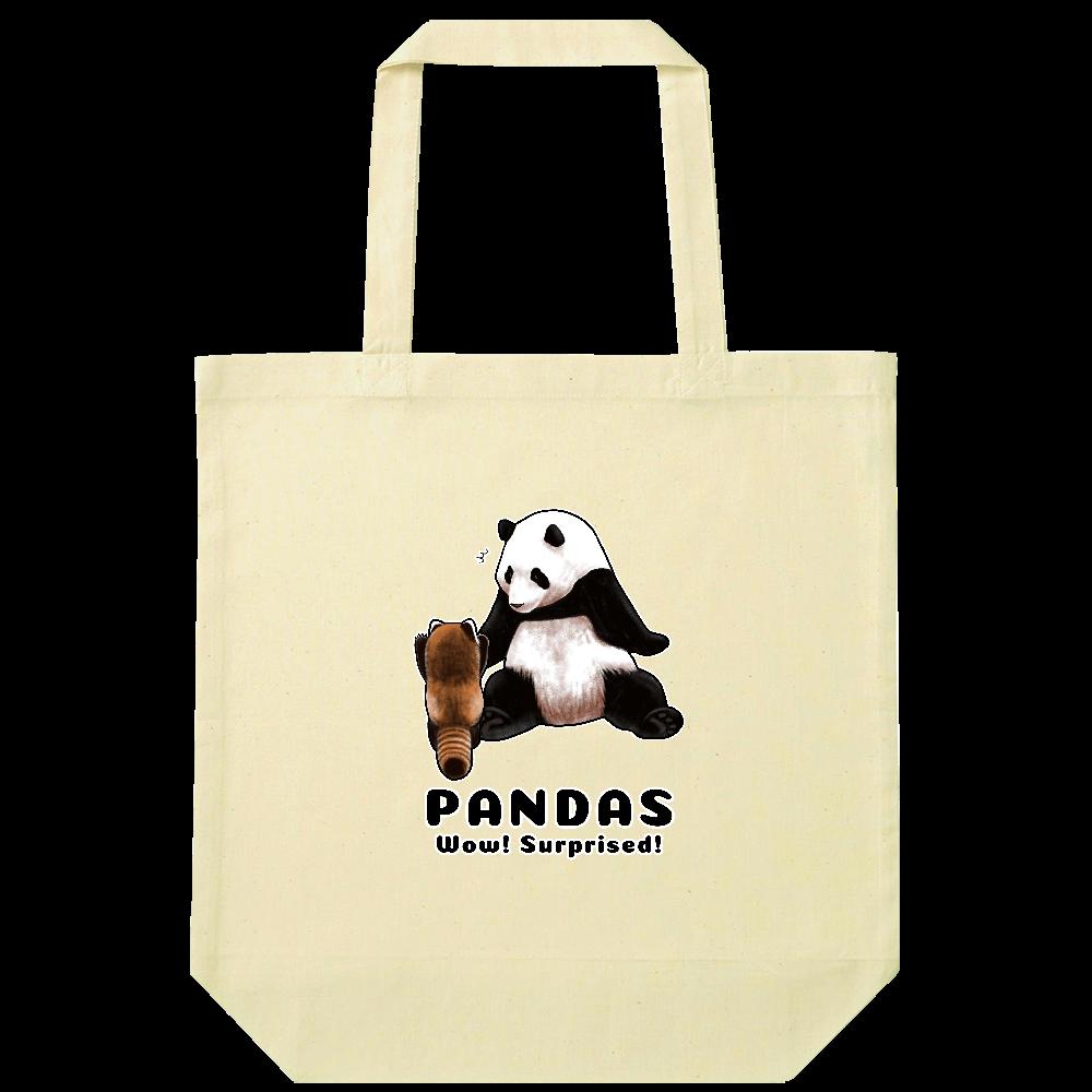 PANDAS【C】 ナチュラルコットンバッグ