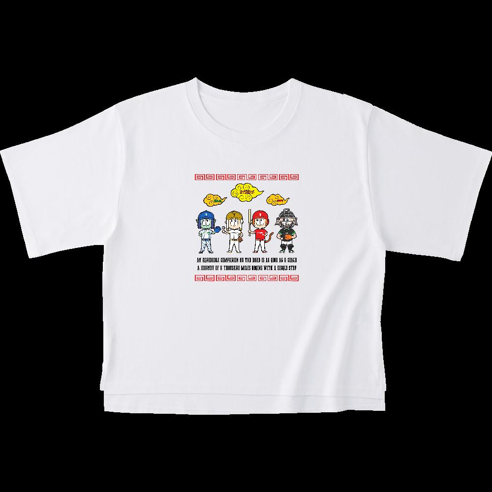 チーム天竺 ~西遊記×野球~ オープンエンドマックスウェイトウィメンズオーバーTシャツ
