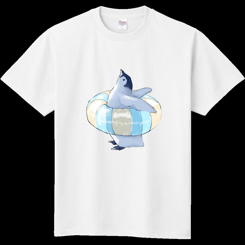 ペンギン(浮き輪) Tシャツ 定番Tシャツ