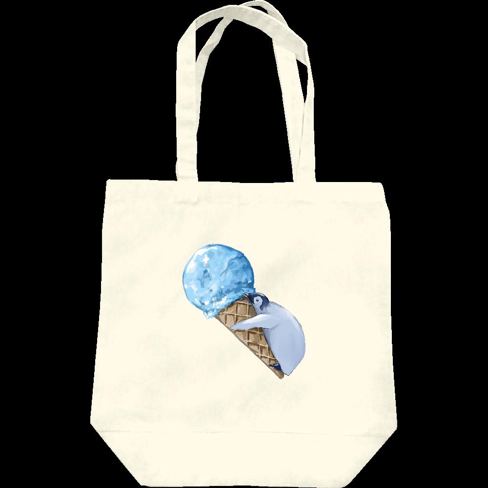 ペンギン(アイスクリーム) トートバッグ レギュラーキャンバストートバッグ(M)