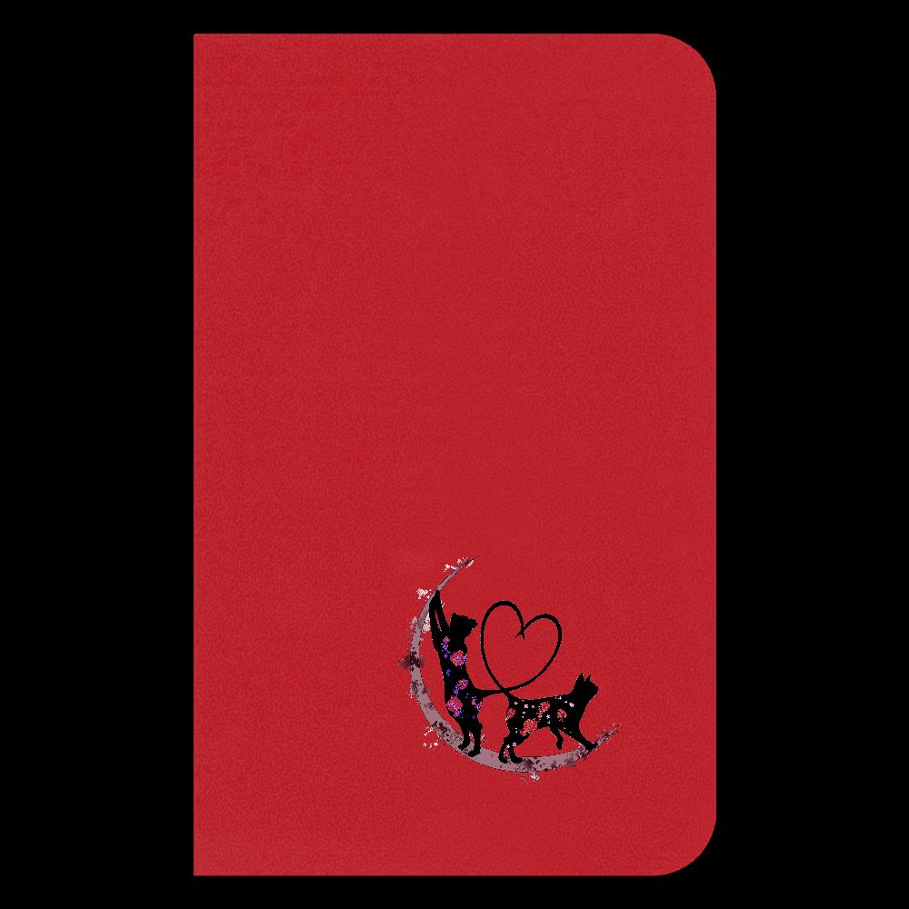 月猫ワンポイント手帳 ハードカバーミニノート(罫線)
