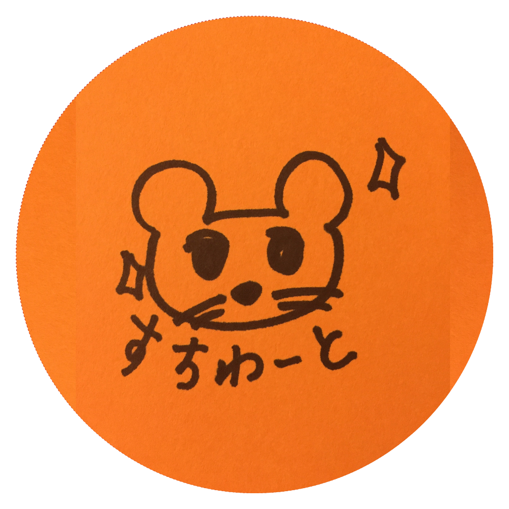 すちわーと缶バッジ (小) 44mm  44㎜缶バッジ