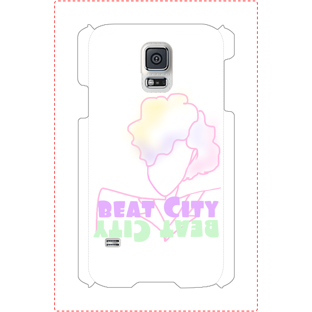Beat City Galaxy S5(SC-04F/SCL23) ツヤあり(コート) Galaxy S5(SC-04F/SCL23)