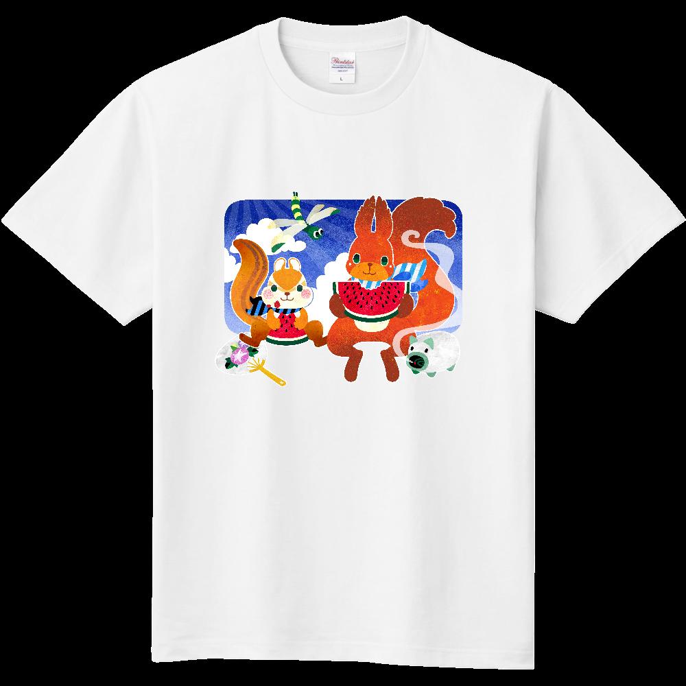 夏リスTシャツ 定番Tシャツ