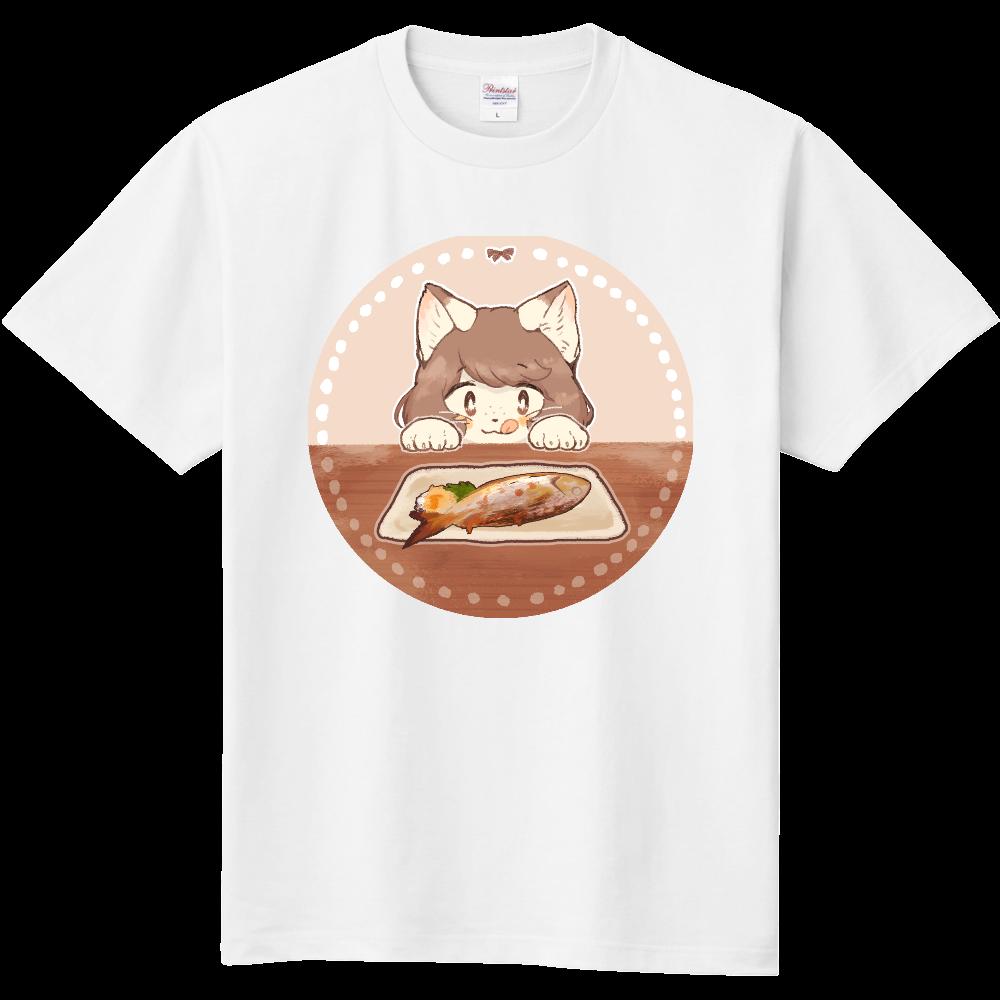 It looks yummy ♡ ねこままさん 定番Tシャツ