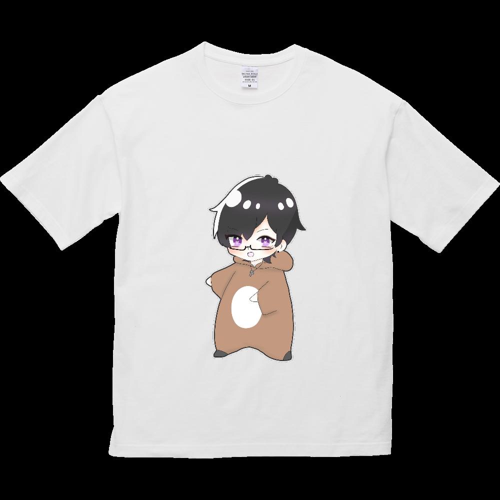 めんとすグッズ 5.6オンス ビッグシルエット Tシャツ