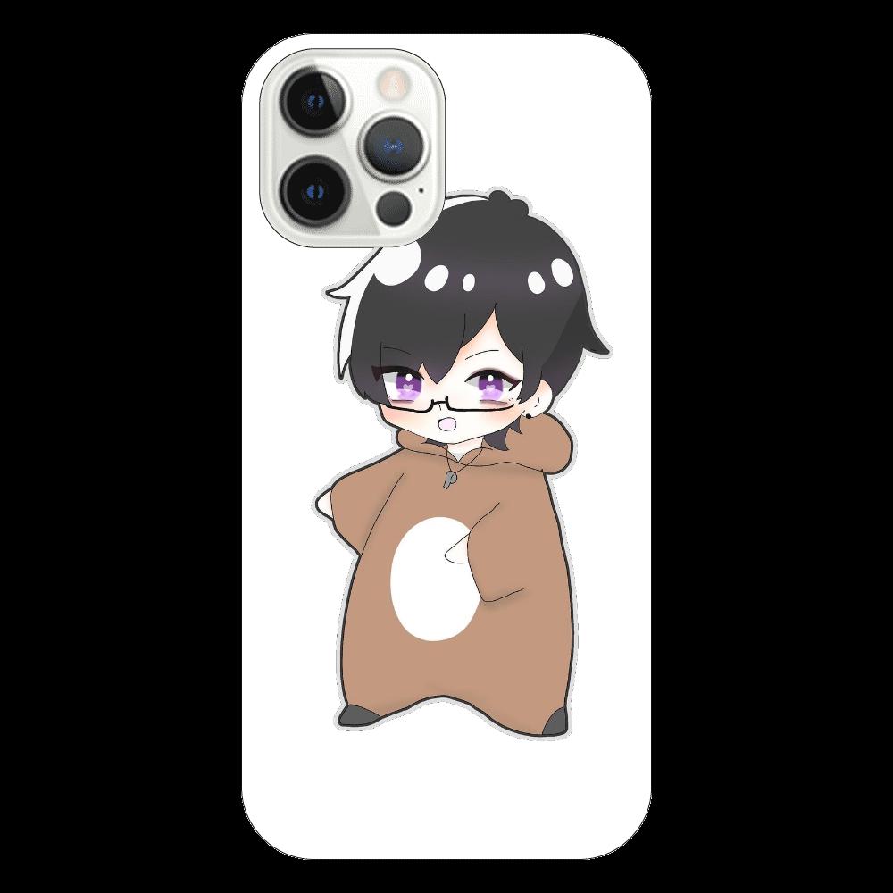 めんとすグッズ iPhone12 Pro(透明)