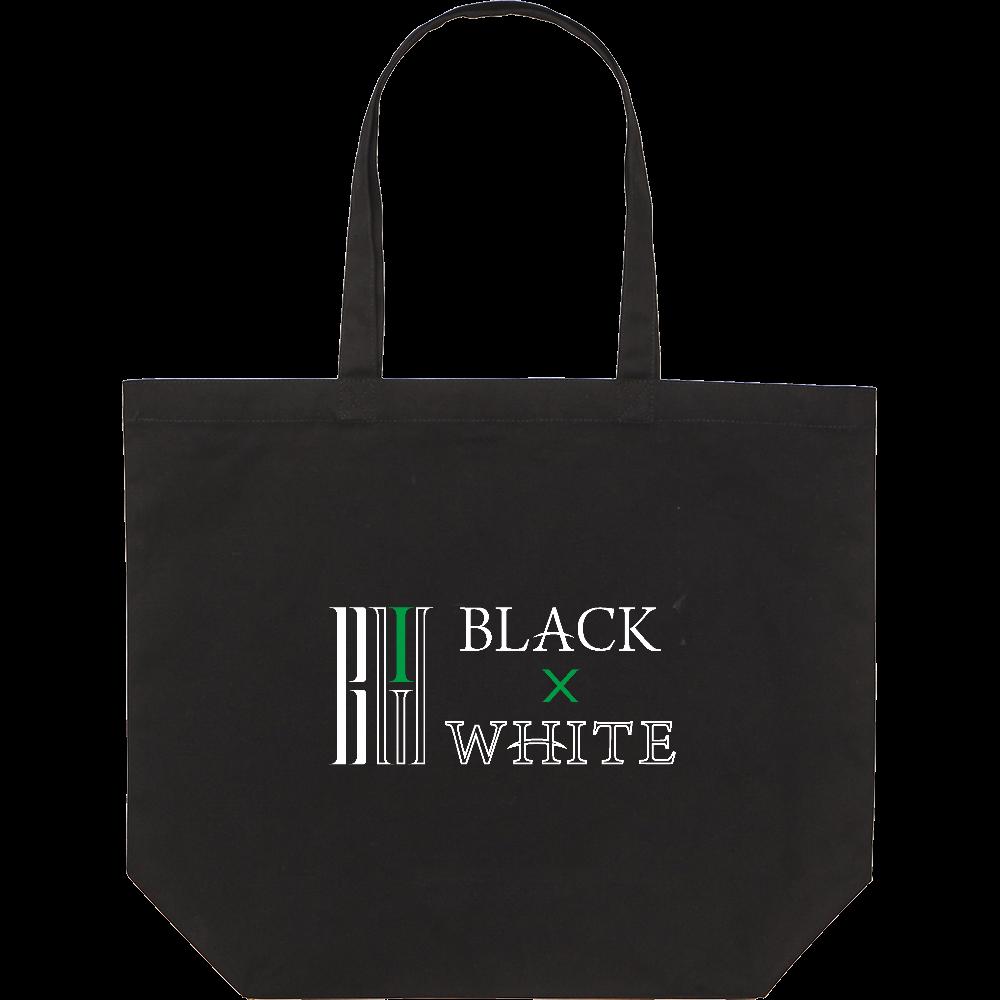BLACK×WHITE トートバッグL スタンダードキャンバストートバッグ(L)