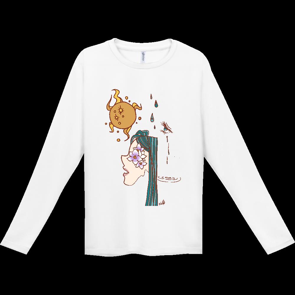 花咲く2ドライロングTシャツ インターロック ドライ長袖Tシャツ
