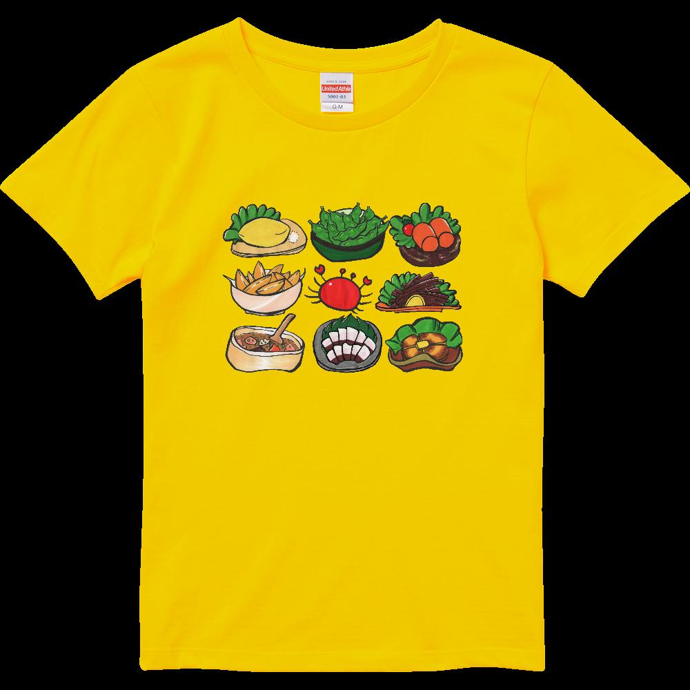 居酒屋メニューセット・ハイクオリティTシャツ(レディース)※カラー選択可 ハイクオリティーTシャツ(ガールズ)