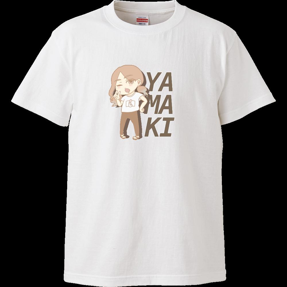 仁義なき麻雀の戦い ゲストやまき ハイクオリティーTシャツ