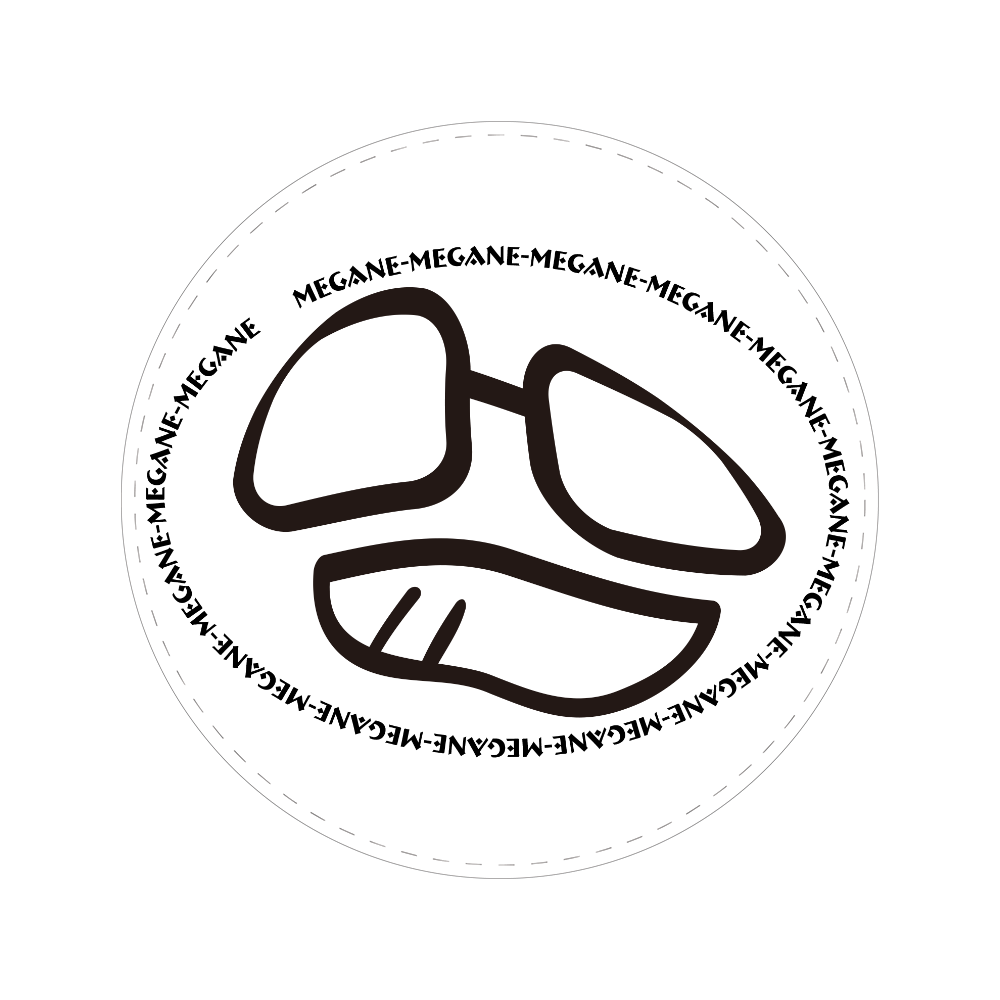 MEGANE-MEGANE02 56㎜缶バッジ