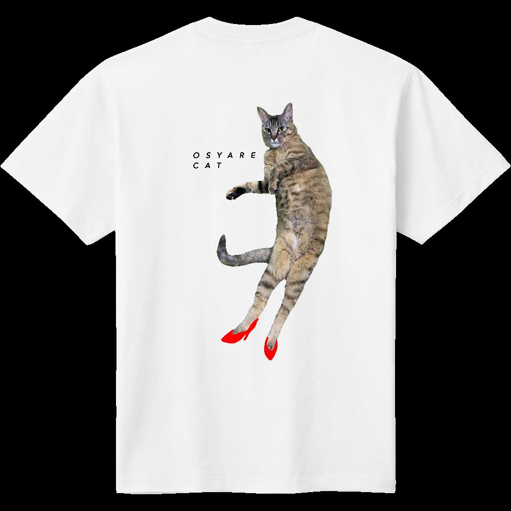 おしゃれキャット バックプリント 定番Tシャツ