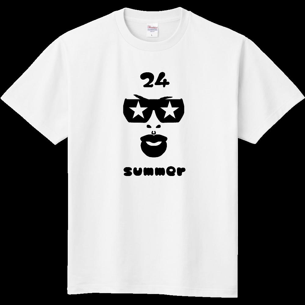 ナトゥ24 black 定番Tシャツ