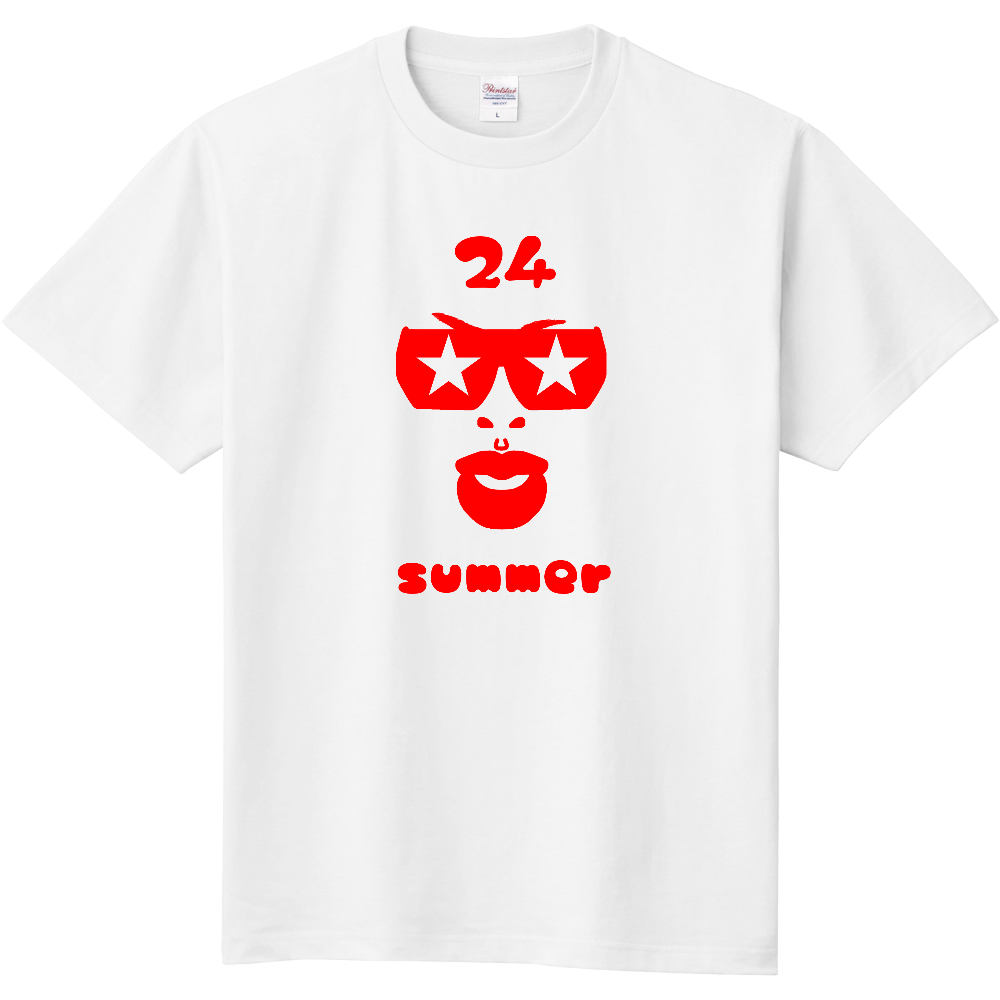 ナトゥ24 red 定番Tシャツ