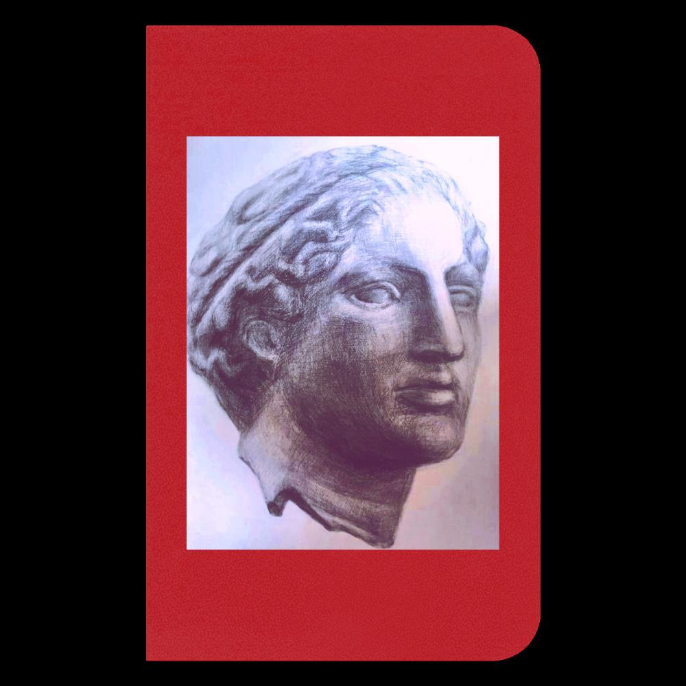 石膏像デッサンシリーズ2 ハードカバーミニノート(罫線)