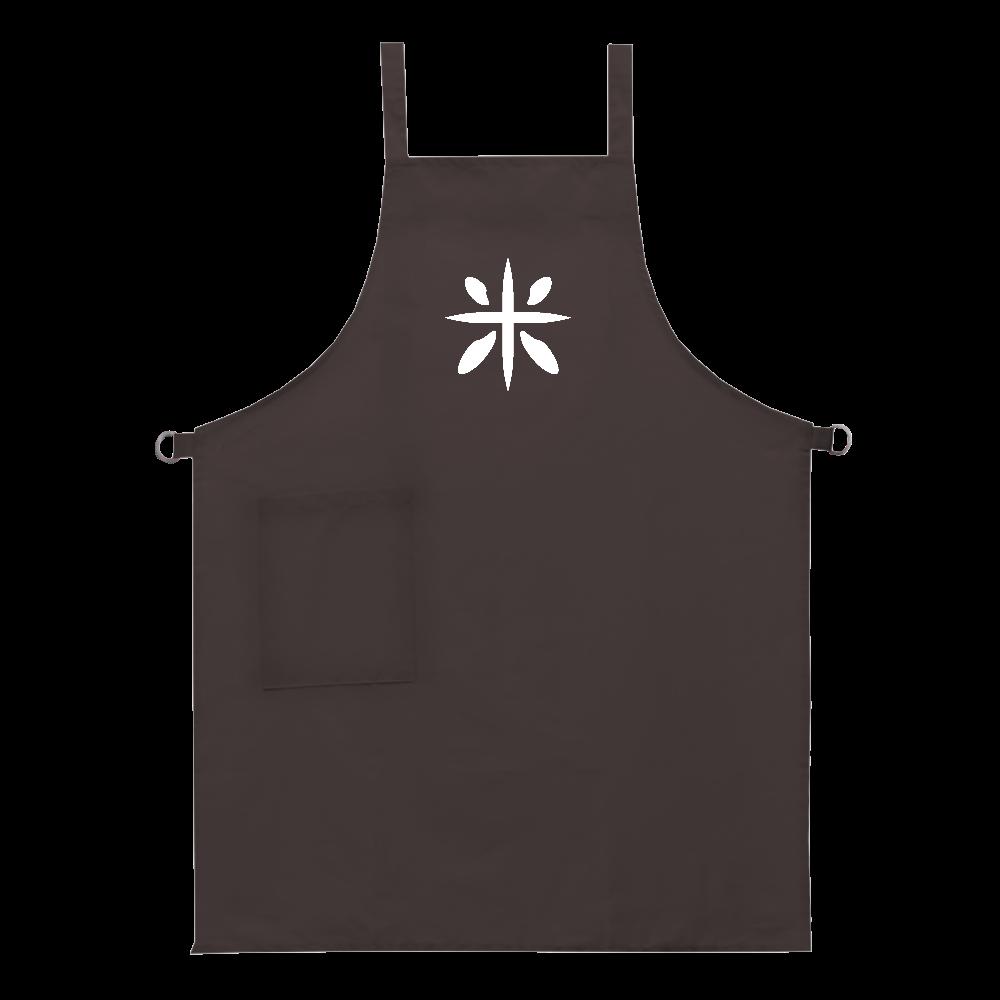 rice logo エプロン ベーシックエプロン