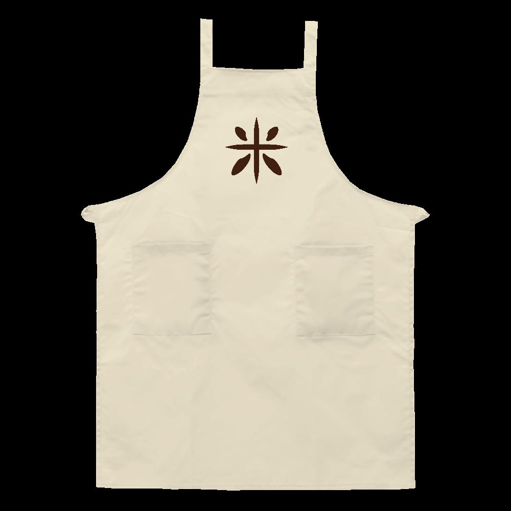rice logo エプロン エプロン