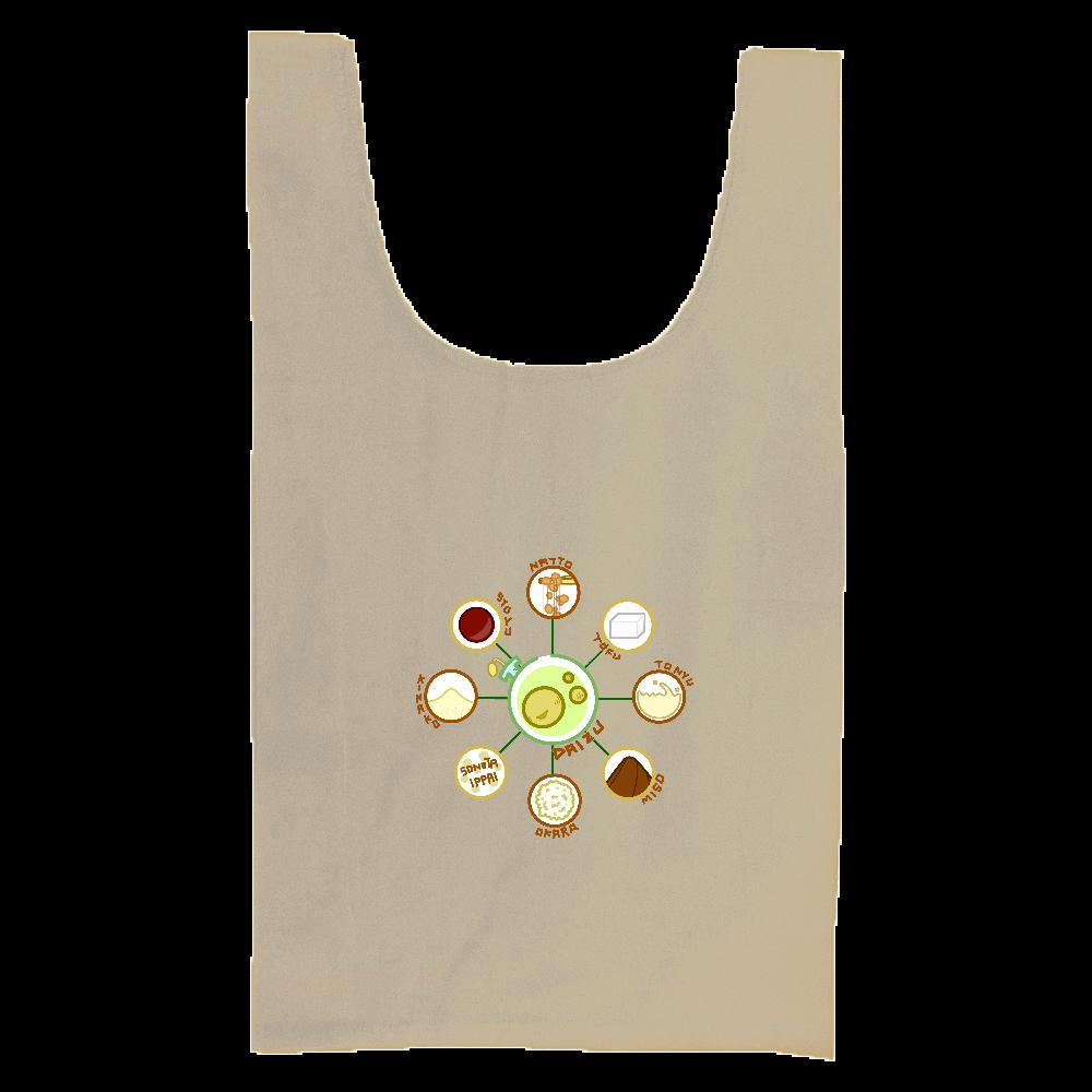 超食材大豆 厚手コットンマルシェバッグ(M) 厚手コットンマルシェバッグ(M)