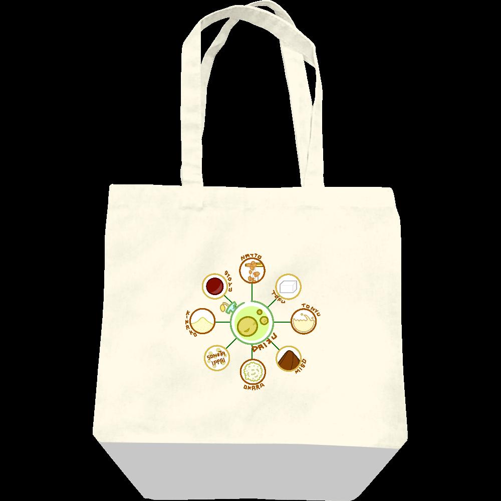 超食材大豆 レギュラーキャンバストートバッグ(M) レギュラーキャンバストートバッグ(M)