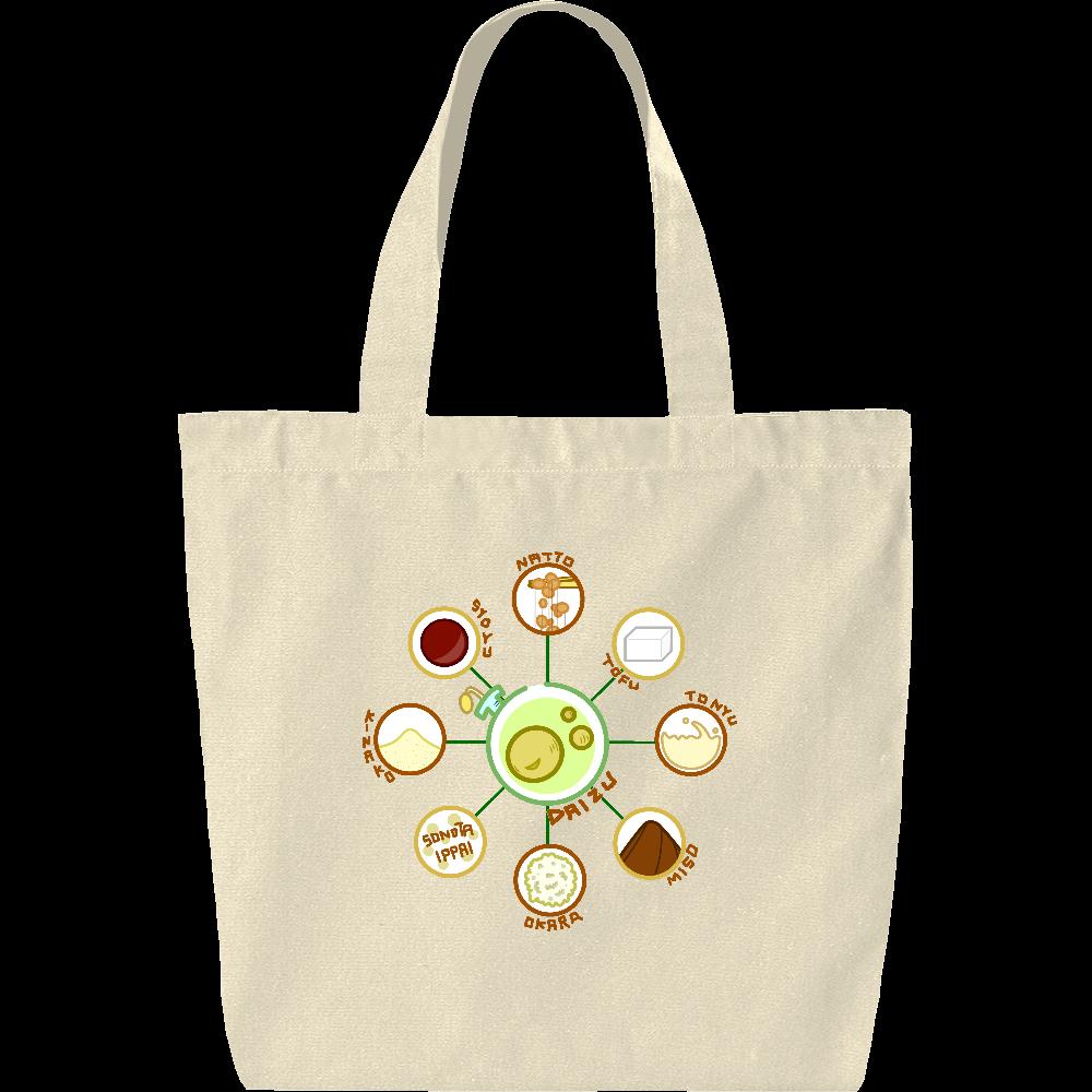 超食材大豆 ヘヴィーキャンバス トートバッグ(中) ヘヴィーキャンバス トートバッグ(中)