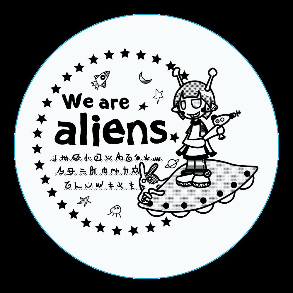 我々は宇宙人だ アクリルコースター(丸) アクリルコースター(丸)