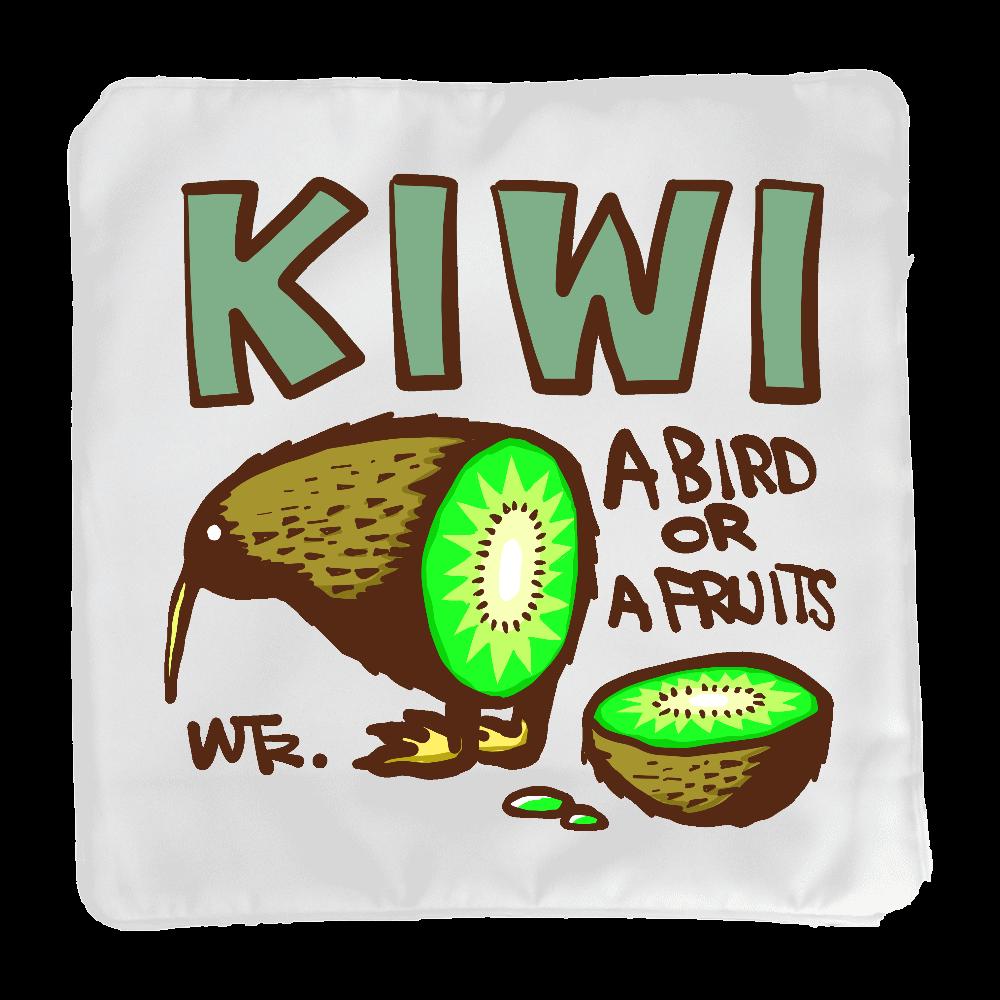KIWI, A BIRD OR A FRUITS? クッションカバー(小)カバーのみ