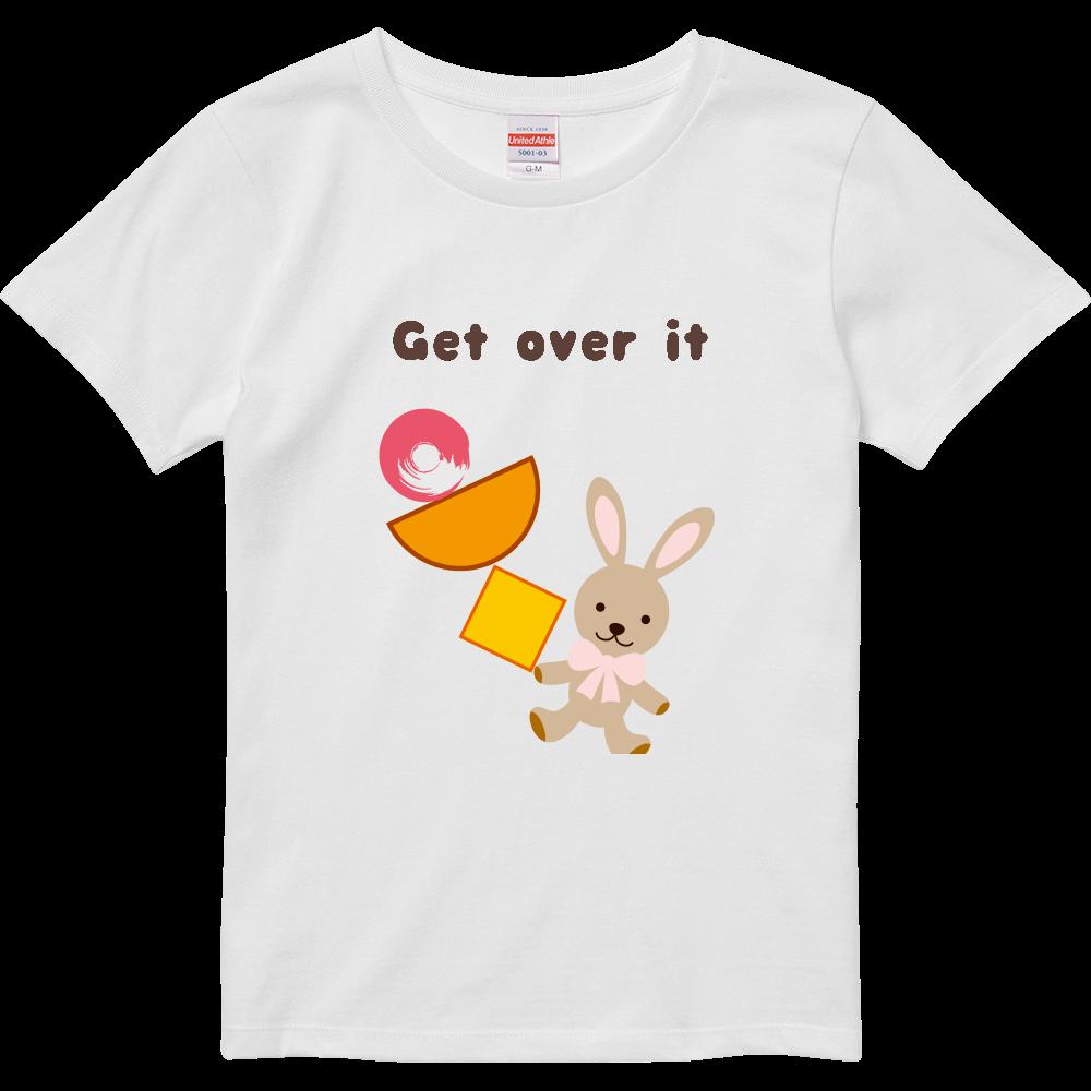 Get over it ハイクオリティーTシャツ(ガールズ)