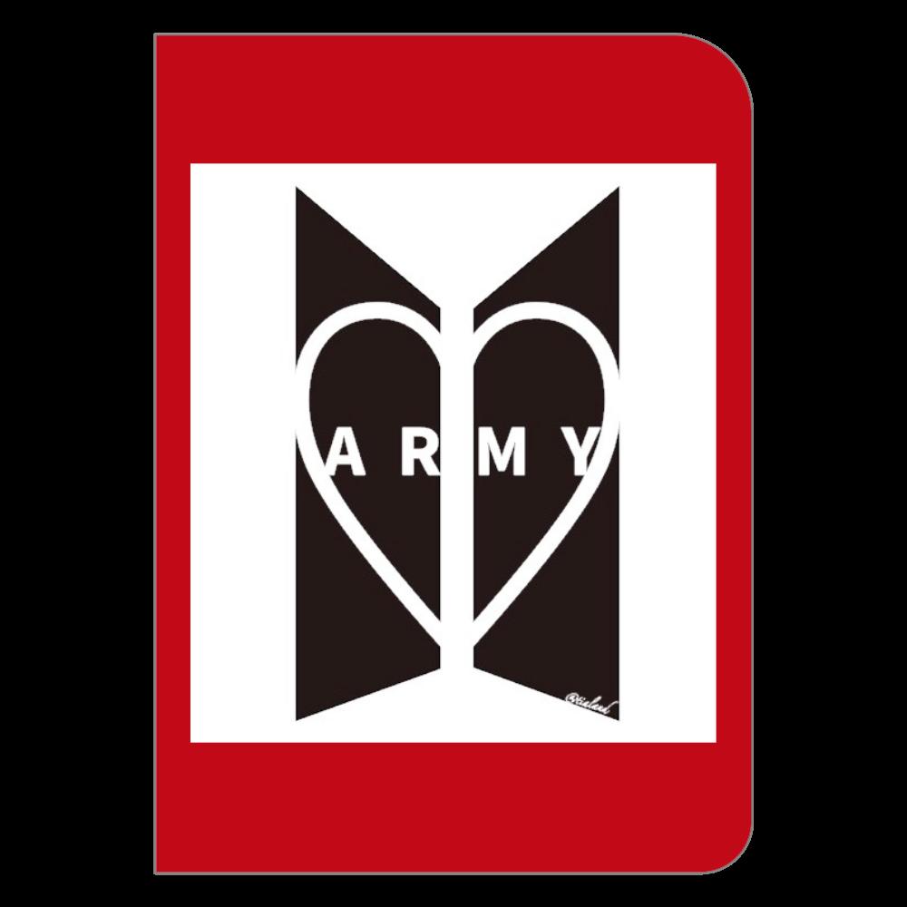 ARMYノート ハードカバーポケットノート