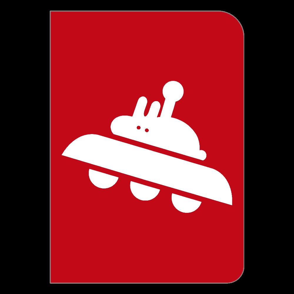 ウサギアダムスキーハードカバーノート ハードカバーポケットノート