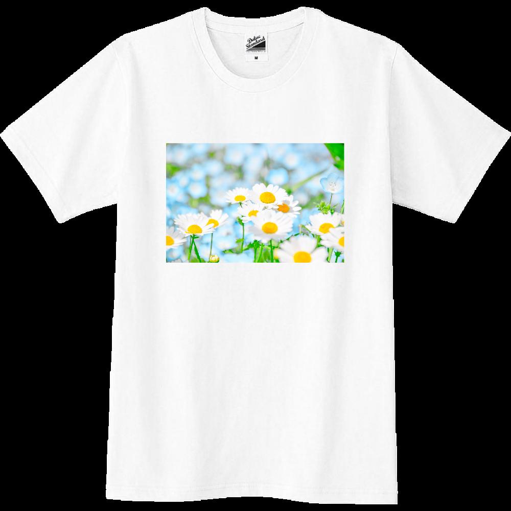 ネモフィラ✕コスモスTシャツ スリムTシャツ