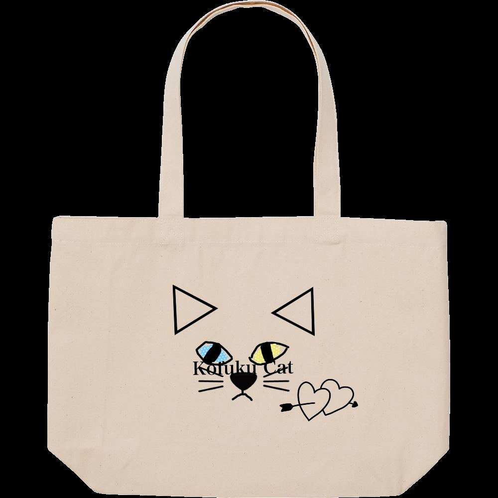 kofuku cat 幸福ねこ スタンダードキャンバストートバッグ(W)