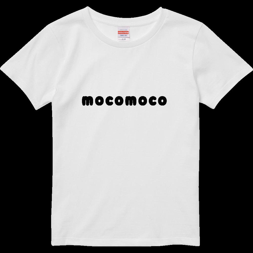 大人気mocomocoロゴ半袖Tシャツ ハイクオリティーTシャツ(ガールズ)