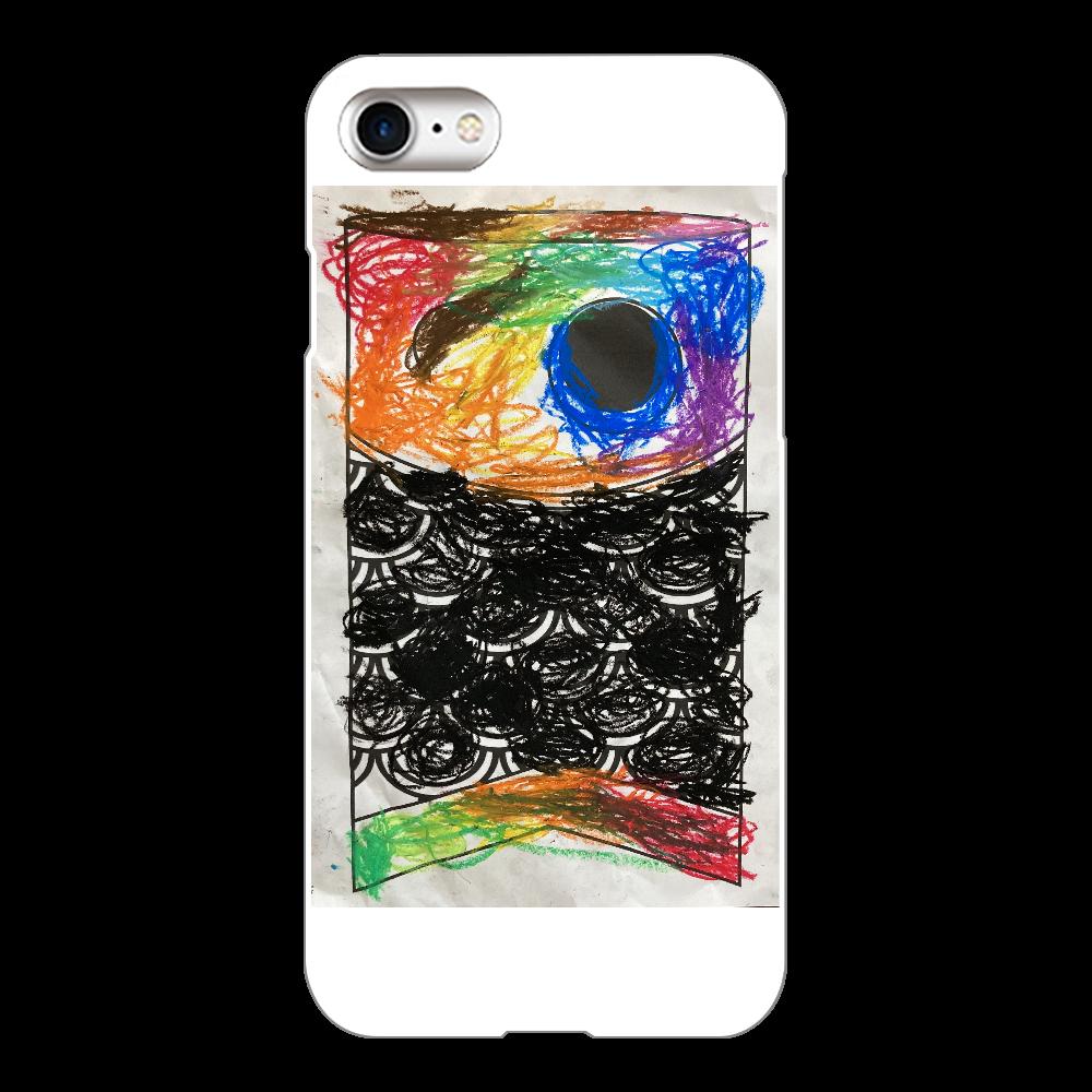 こいのぼり【塗り絵】 iPhone8(白)