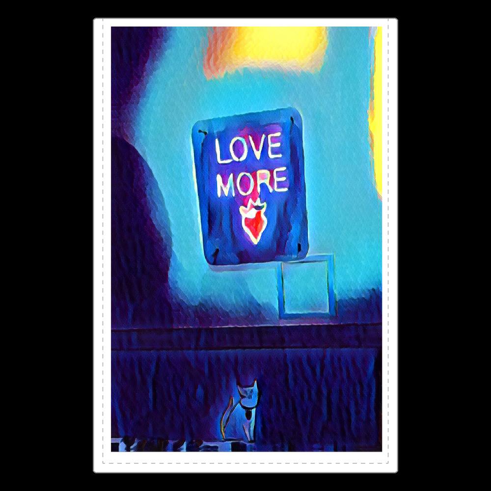 LOVE MORE ソフトレザーミラー