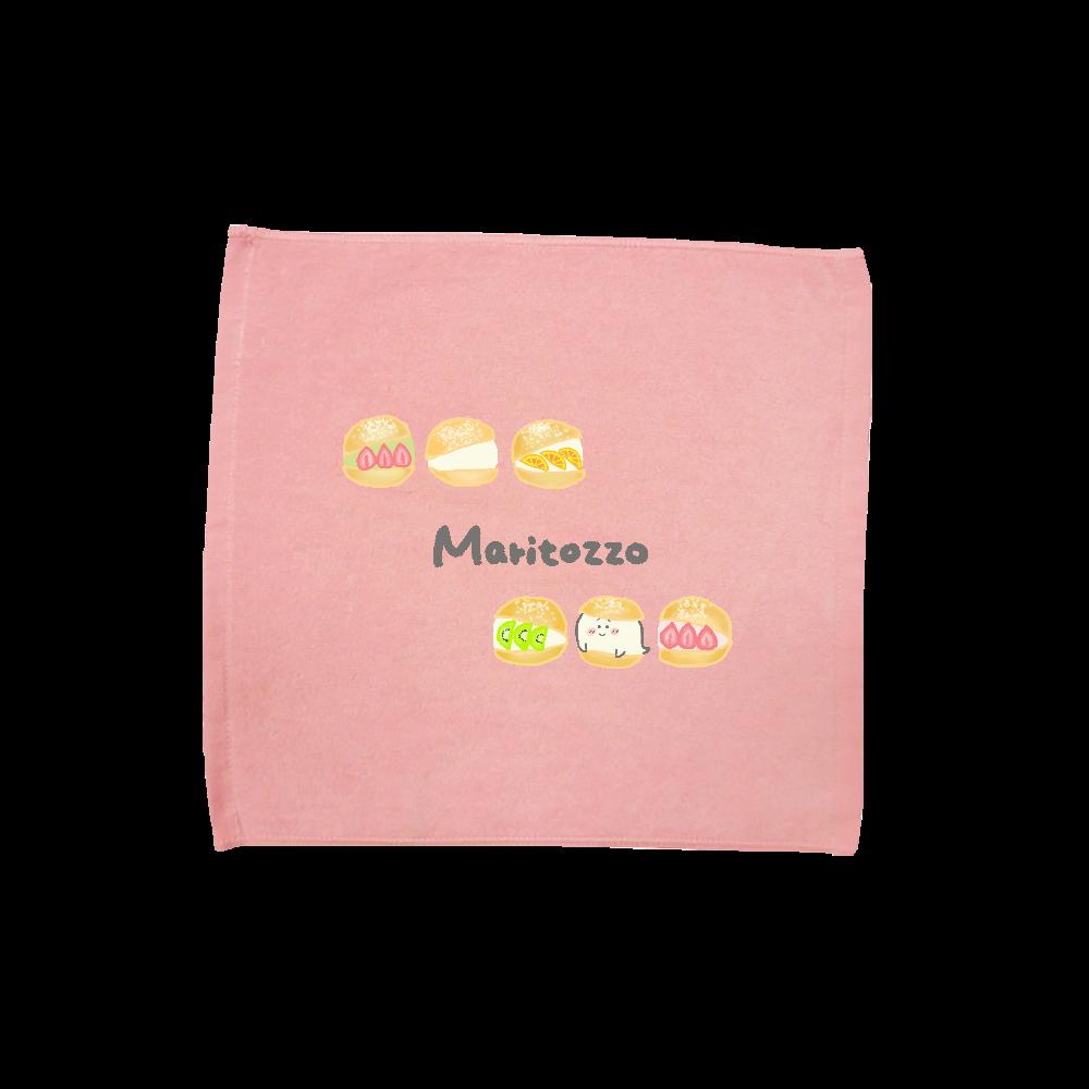 マリトッツォに紛れ込むおばけ ハンドタオル